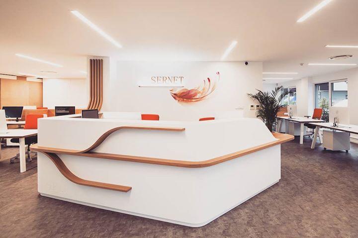 SERNET, des bureaux en «Open Space» à Strasbourg