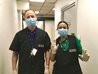 Félicitations aux agents de propreté !