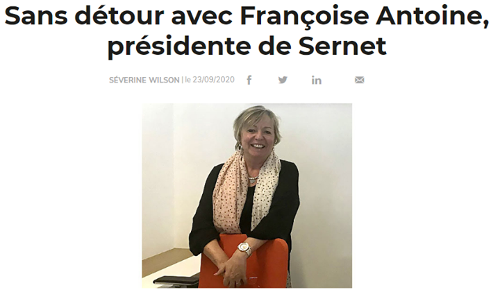 Interview Présidente Sernet